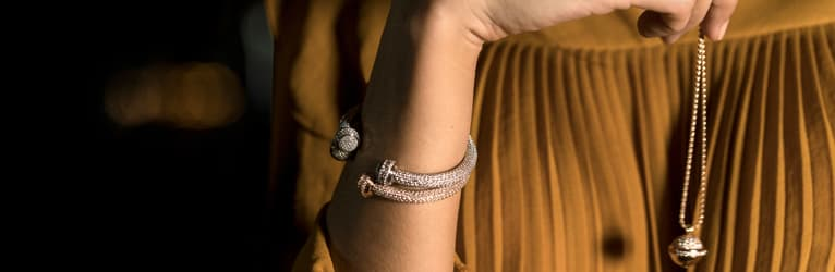 Piaget Possession diamond bangle bracelets and pendants