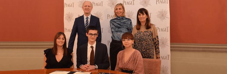 Piaget Sponsorenschaft für Schmuckdesign-Studierende der HEJ