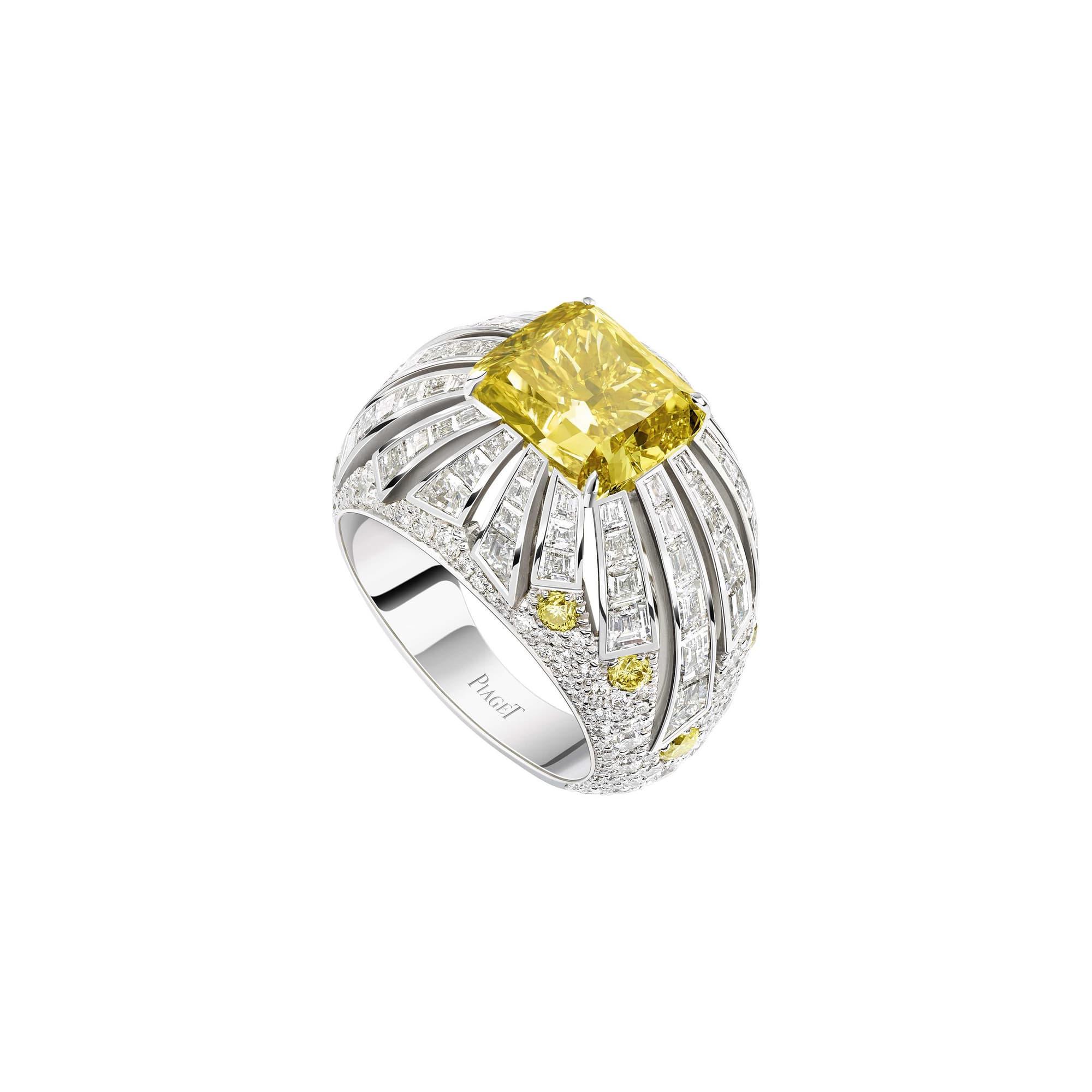 bague en diamants haute joaillerie