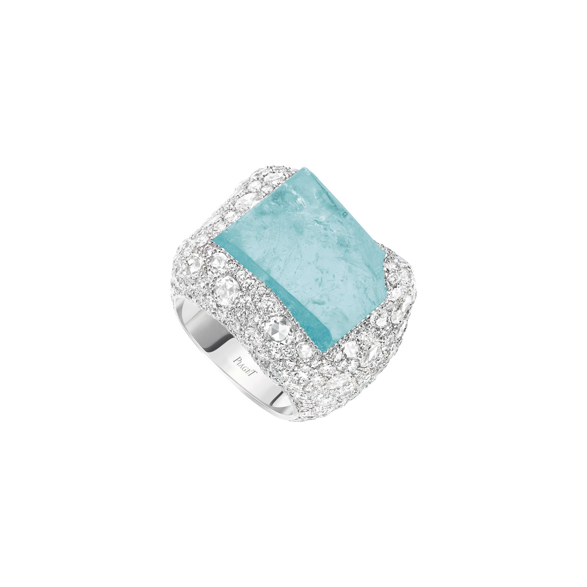 bague en diamants haute joaillerie piaget