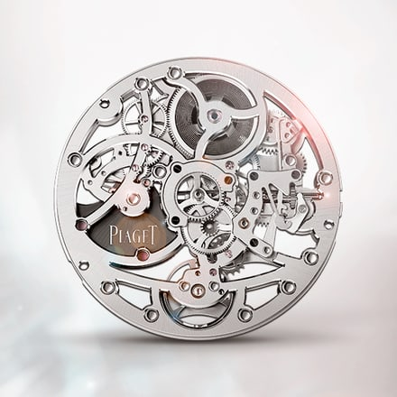 Piaget 1200S ultra-thin skeleton self-winding mechanical movement
