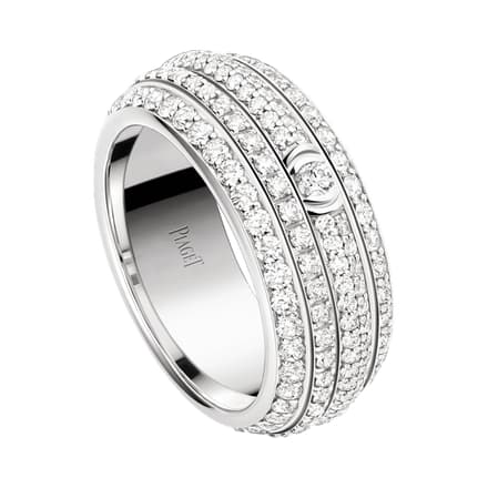 white gold diamond ring worn by Michael B Jordan at the Oscars