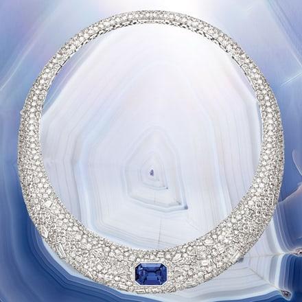 Collier en diamant de haute joaillerie Piaget