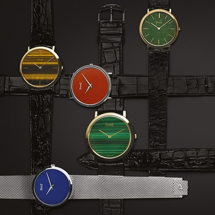Piaget hard stones watches