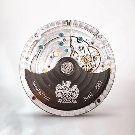 حركة أطوار القمر أوتوماتيكية بياجيه 580P