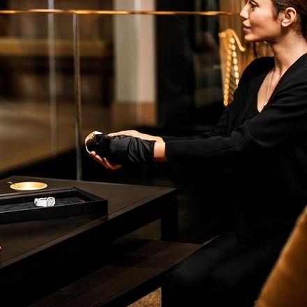 boutique de montre de luxe et bijoux Piaget