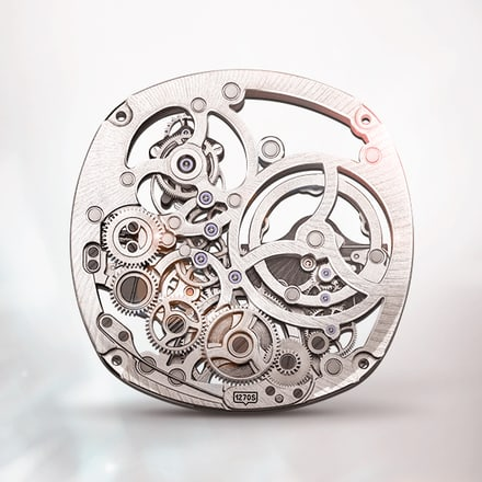 Piaget 1270S tourbillon skeleton watch movement