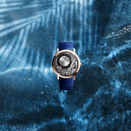 Ultraflache Roségold-Uhr Piaget Altiplano