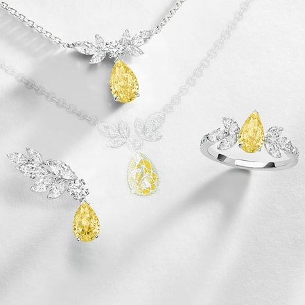 Piaget Treasures系列黃色鑽石高級珠寶