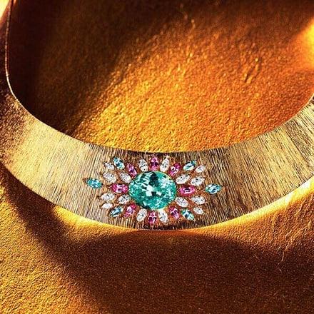savoir-faire des bijoux de luxe en or