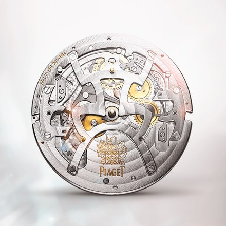 Механизм Piaget 856P с вечным календарем