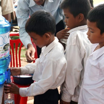 luxury watchmaker piaget provides clean and affordable water to Cambodge communities