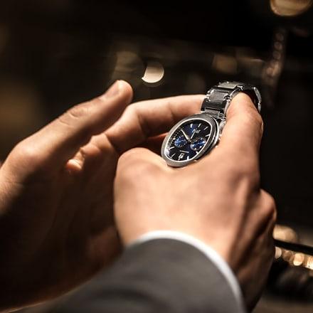 contrôle des fonctionnalités d'une montre de luxe Piaget