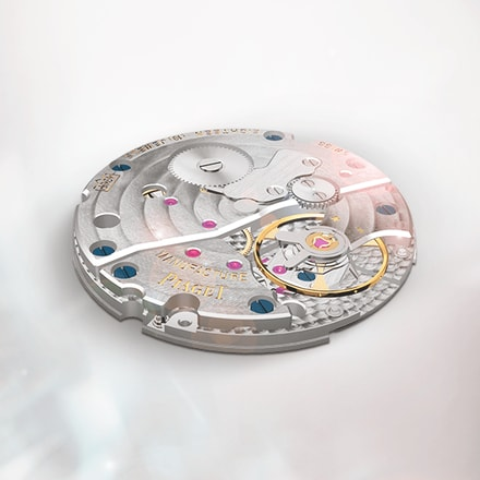 Hand-wound mechanical luxury watch movement: Piaget 430P movement