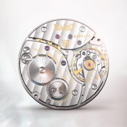 Mouvement mécanique extra-plat à remontage manuel Piaget 9P