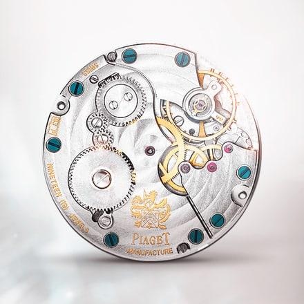 حركة ميكانيكية ذات تعبئة يدوية فائقة الرقة بياجيه 832P