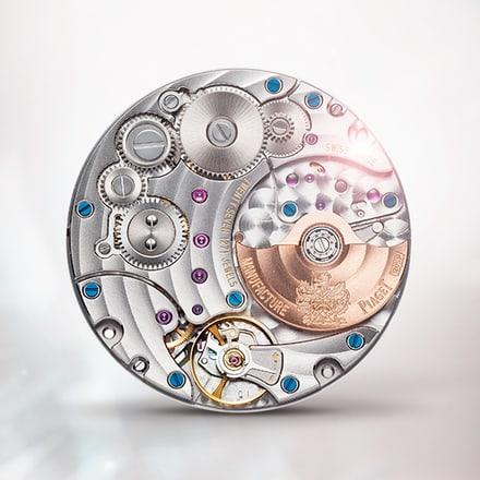 Ультратонкий механизм Piaget 1205P с автоподзаводом