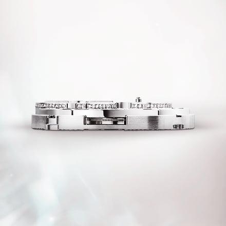 Скелетонизированный механизм для роскошных часов с турбийоном: механизм Piaget 1270D