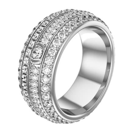 possession white gold diamond ring