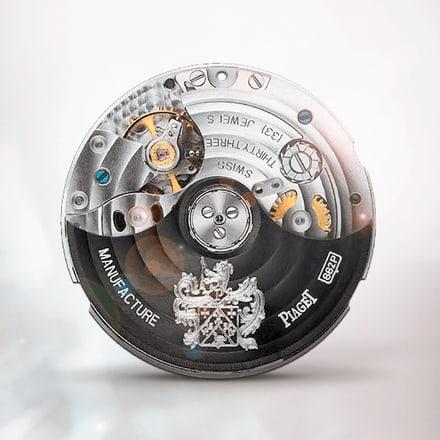Ультратонкий механизм Piaget 882P с функцией хронографа