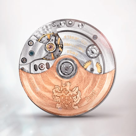 Piaget 882P rose gold ultra-thin mechanical chronograph movement