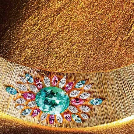 the piaget jeweller's art in gold
