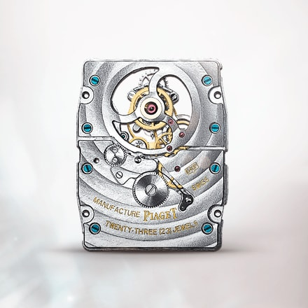 Piaget 640P moon phase tourbillon watch movement
