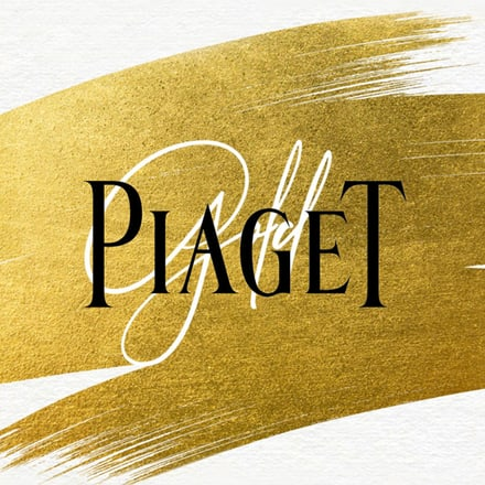 Gold material by Piaget