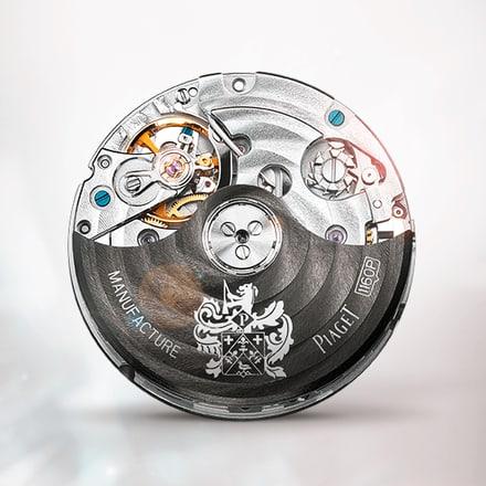 Mouvement chronographe mécanique automatique Piaget 1160P
