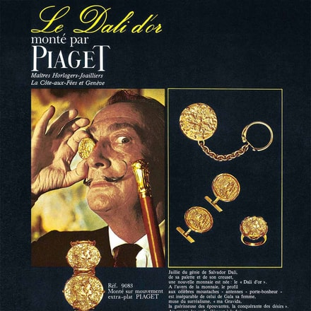 Salvador Dali Piaget limited edition watch