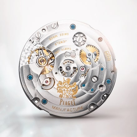 Piaget 883P ultra-thin mechanical chronograph movement