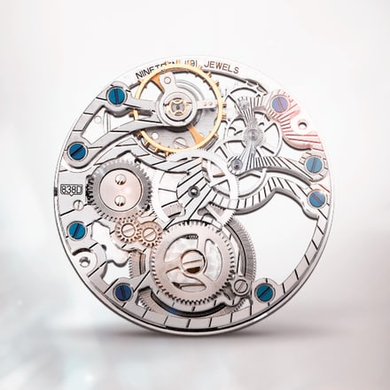 Piaget 838D ultra-thin hand-wound gem-set skeleton mechanical movement