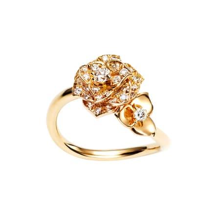 Piaget Rose diamond ring