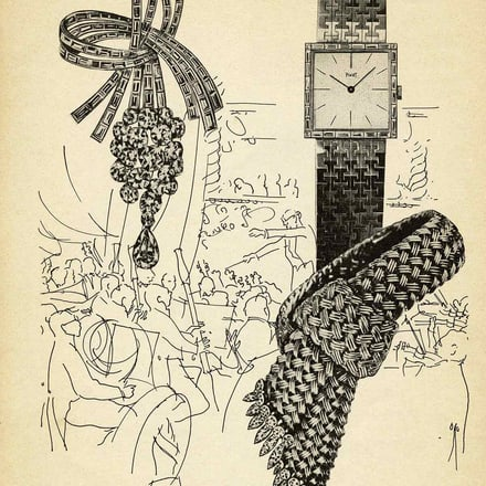 Piaget watch and jewelry advertising