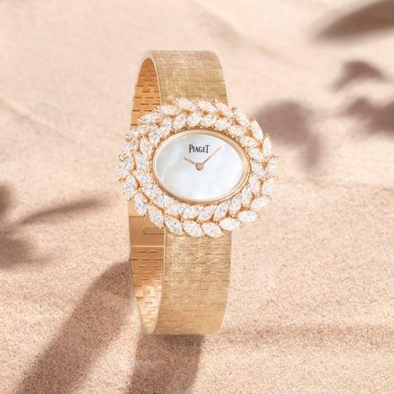 piaget high jewelry diamond watch