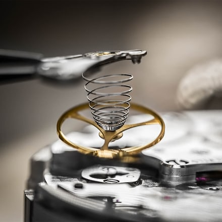 the components of the watch are replaced