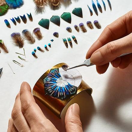 Swiss jeweler apprentices
