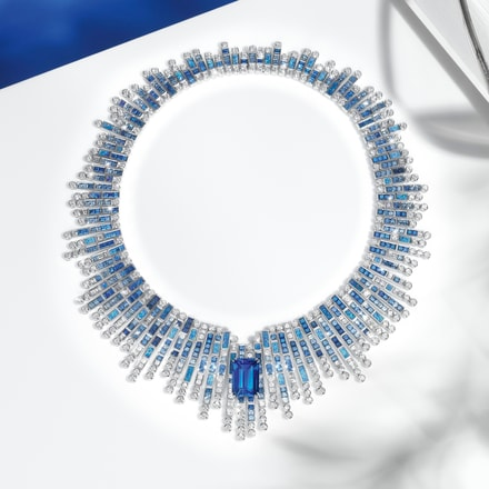 piaget high jewelry diamond necklace