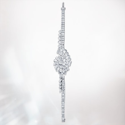 diamond paved high jewelry watch