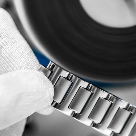 luxury watch strap polishing