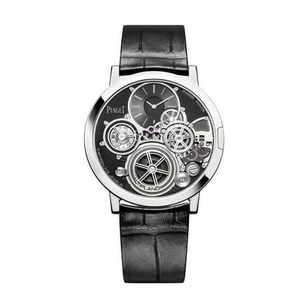 伯爵超薄機械腕錶