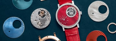 Gold diamond watches personalisation