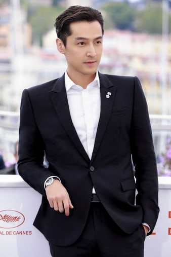 Hu Ge sparkling with the Piaget Altiplano High Jewellery watch