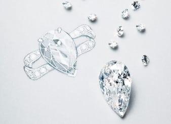 鑽石切工圖表