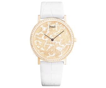 rose gold and diamonds watch