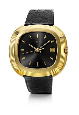 Piaget montre de luxe en or jaune