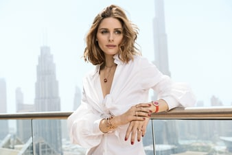 Olivia Palermo wears Piaget Possession jewelry and watch