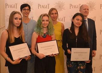 Piaget a soutenu la deuxième promotion du Bachelor Design Bijou de l'École Privée de la Bijouterie-Joaillerie