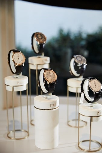 Altiplano white gold and rose gold watches
