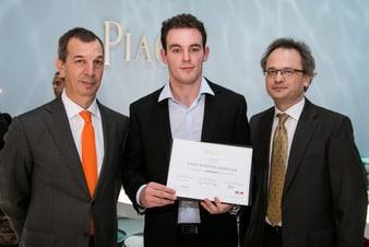 Le lauréat du prix scientifique Piaget de cette année